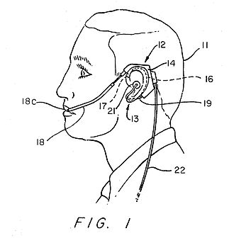 Plantronics - Plantronics StarSet patent drawing showing proposed use of invention.