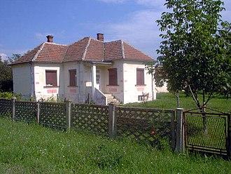 Moravac - Image: Stara kuca