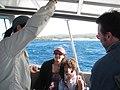 Starr-101230-6319-Cordia subcordata-habitat with Kim and visitors from PA aboard Ohua boat-Honokanaia-Kahoolawe (24941894082).jpg