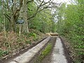 Start of footpath through Bognor Common - geograph.org.uk - 1264333.jpg