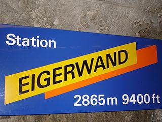 Eigerwand railway station