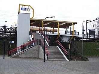 's-Hertogenbosch Oost railway station - Image: Stationoostdenbosch 05jan 2007