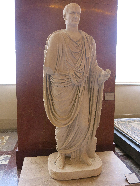 File Statue De L Empereur Vespasien Louvre Ma 1262 Jpg