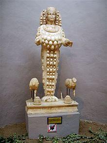 Estatua de Artemisa en Efeso