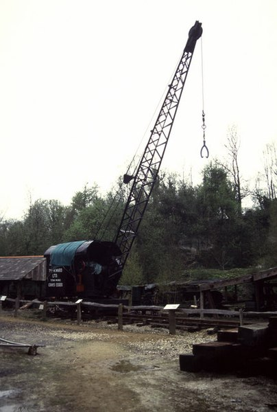 File:Steam crane at sawmill, Amberley Chalkpits Museum - geograph.org.uk - 774029.jpg