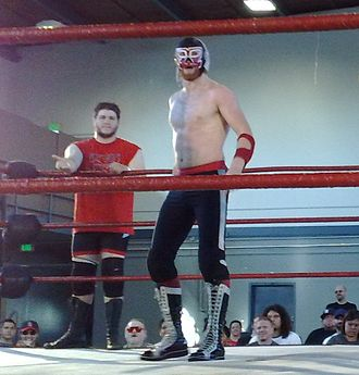 Kevin Owens - Steen (left) and Generico (right) teaming together in 2008