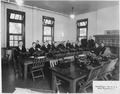Stenographers School at a Naval Training Station. - NARA - 295574.tif