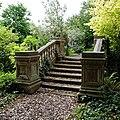 Steps and balustrade at Easton Lodge Gardens, Little Easton, Essex, England 2.jpg