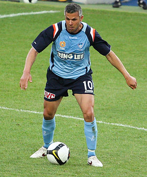 Steve Corica - Steve Corica playing for Sydney FC