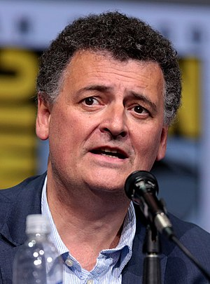 Steven Moffat - Moffat at the 2017 San Diego Comic-Con