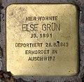 Stolperstein Augsburger Str 29 (Charl) Else Grün.jpg