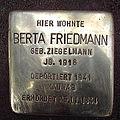 Stolperstein Nesenstraße 7 Berta Friedmann.jpg