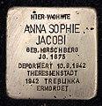 Stolperstein Rodelbergweg 12 (Baums) Anna Sophie Jacobi.jpg