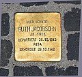 Stolperstein Unter den Linden 6 (Mitte) Ruth Jacobsohn.jpg