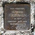 Stolperstein für Hermann Fürstenheim, Reitbahnstraße, Chemnitz (2).JPG