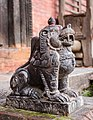 Stone Sculpture of lion in Bagh Bhairab Temple-3828.jpg