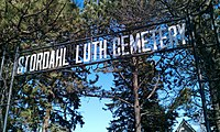 Stordahl Lutheran Cemetery, Dell Rapids, South Dakota sign.jpg