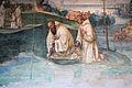 Storie di s. benedetto, 15 sodoma - Come Benedetto fa tornare nel manico uno roncone che era caduto nel fondo di un lago 03.JPG