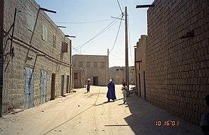 Timbuktu street scene.