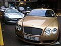 Streetcarl Bentley Continental GT gold (6201034414).jpg