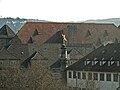 Stuttgart Merkur auf der Merkursäule der Alten Kanzlei am Stuttgarter Schlossplatz.jpg