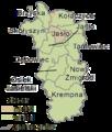 Subcarpathian Voivodeship - jasielski county gminas.png