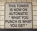 Subway tower sign 47-50 Street Rockefeller Center.jpg