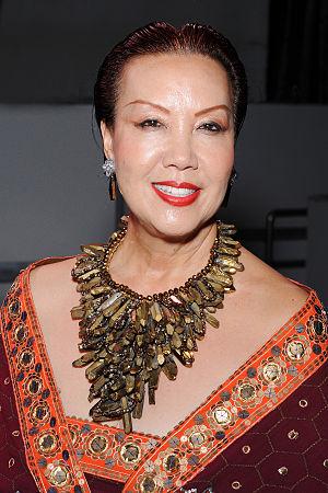 Sue Wong - Sue Wong, Hollywood, California on April 30, 2014