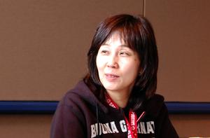 Sumi Shimamoto - Image: Sumi Shimamoto at Sakura Con 2007