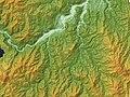 Sunagohara Caldera Relief Map, SRTM-1.jpg