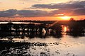 Sunset over the Hundred Foot Washes - geograph.org.uk - 1053739.jpg