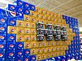 Super Bowl 2015 Pepsi Football Display (16213104887).jpg