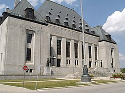 Supreme Court of Canada in Ottawa