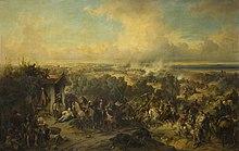 La battaglia della Trebbia in un dipinto di Alexander von Kotzebue