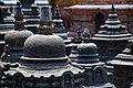 Swayambhunath mini stupas.jpg