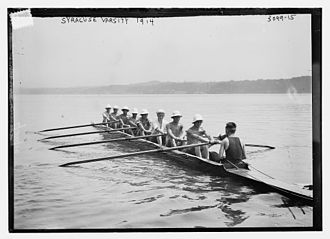 Syracuse Orange - Syracuse University men's rowing team, 1914