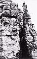 Szlovákia, Zsigra, a Dreveník hegy sziklái, 1928 Fortepan 95947.jpg