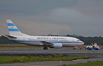Agrupación Aérea Presidencial - Boeing 737 T-04