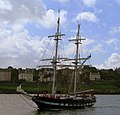 T-S 'Royalist' approaching Bangor harbour - geograph.org.uk - 876387.jpg