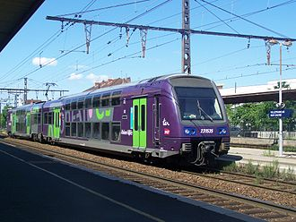SNCF Class Z 23500 - Image: TER à Villefranche sur Saône