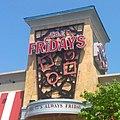 TGI Fridays Restaurant 6 2014 Waterbury CT. TGI Friday's Logo Sign pic by Mike Mozart of TheToyChannel and JeepersMedia on YouTube. -TGIFridays -Fridays -TGIFridaysRestaurant -TGIFridaysSign -TGIFridaysLogo -TGI -Fridays (14348283122).jpg