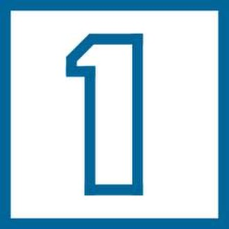 La 1 (Spanish TV channel) - Image: TVE1 Logo 1990