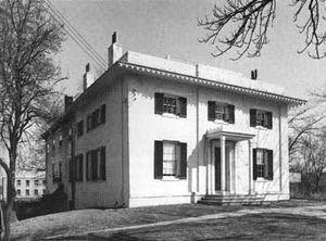William Howard Taft National Historic Site - View of the house, 1970