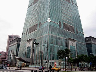 Taipei 101 - Base of the tower