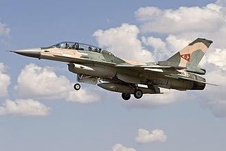 General Dynamics F-16 Fighting Falcon variants - A Venezuelan Air Force F-16B