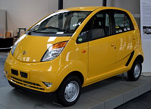 No frills - The no-frills Tata Nano