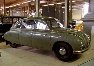 Tatra 600 - Tatra 600 Tatraplan in an exhibition