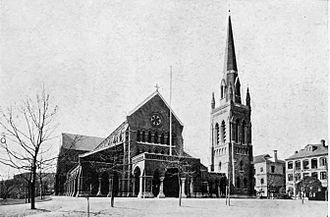 Holy Trinity Church, Shanghai - Holy Trinity Church, Shanghai pictured in 1908
