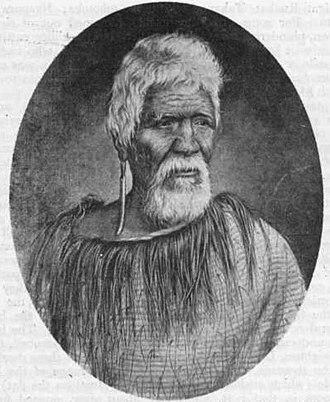 Te Mamaku - Ngati Haua-te-Rangi chief Te Mamaku