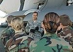 Tech. Sgt. James Goodrich explains aircraft maintenance to Washington CAP cadets.jpg